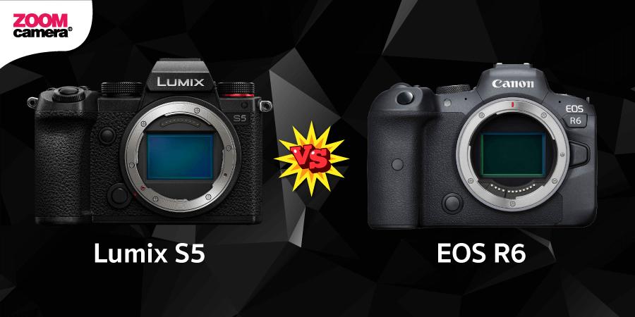 Lumix S5 vs EOS R6