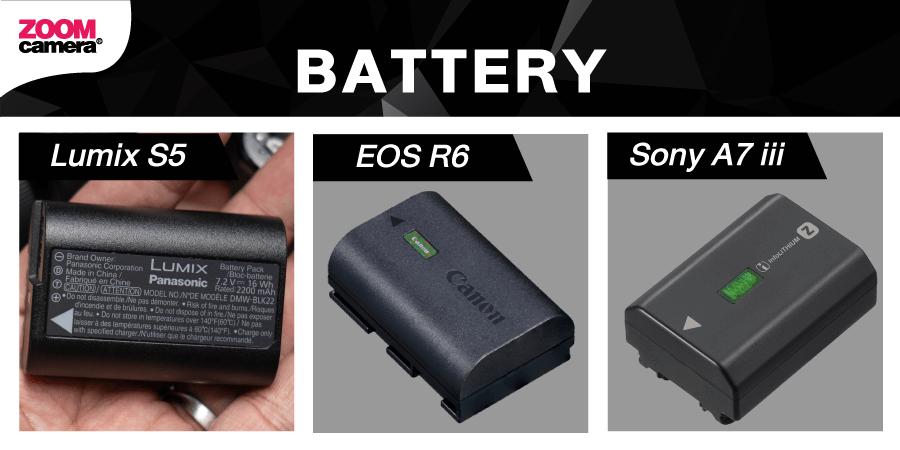 Lumix S5 Battery