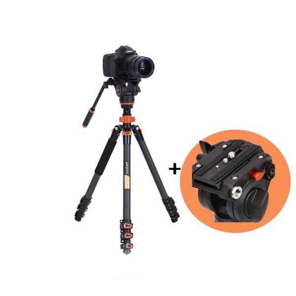 AI FOTTO CF2984AH6 Video Tripod Carbon Fiber 1