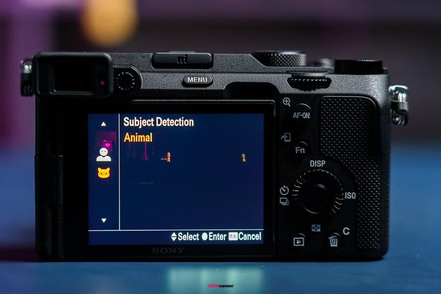 Sony A7C animal af