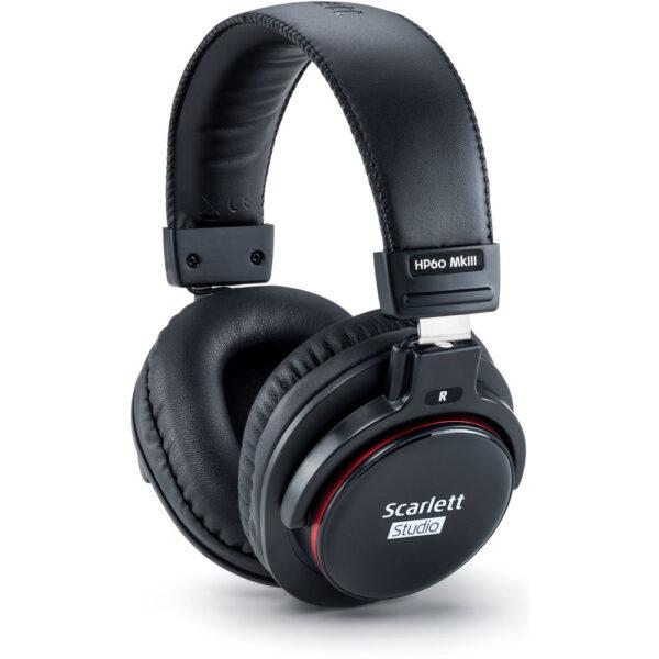 Focusrite Scarlett 2i2 Studio 2x2 USB Audio Interface with Microphone Headphones 3rd Generation 4