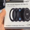 H&Y Magnetic Circular Filter Kit SOZV-1 (ND64+UV+CPL) for Sony ZV-1 Camera
