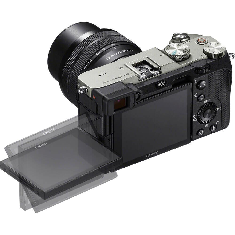 Sony Alpha a7C Mirrorless Digital Camera with 28-60mm Lens