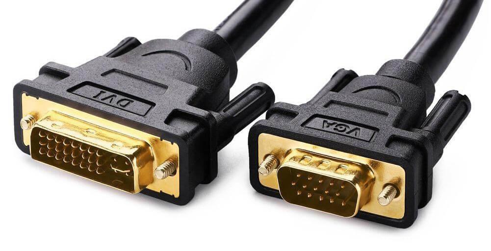 Ugreen 11617 DVI Male to VGA Male DVI 245 DVI I Dual Link to VGA cable 1.50 M 7