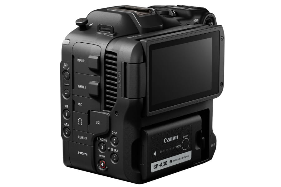 canon eos c70 back lcd edit