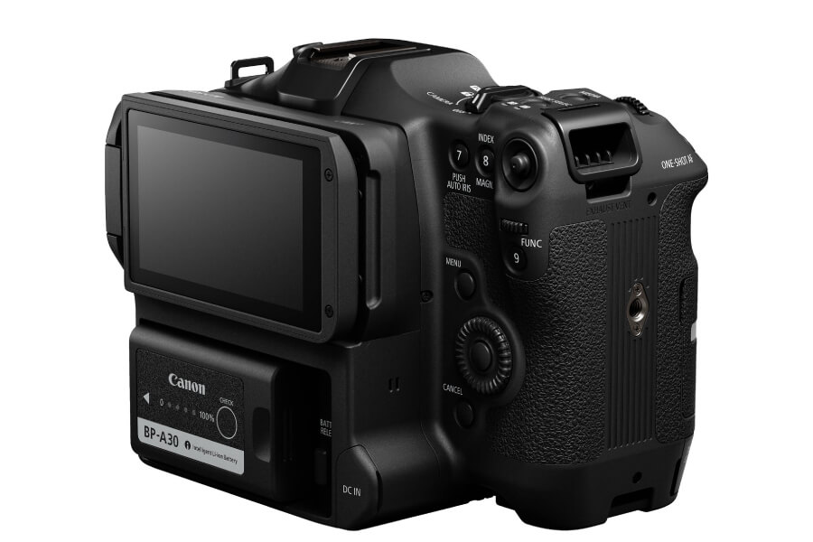 canon eos c70 back lcd