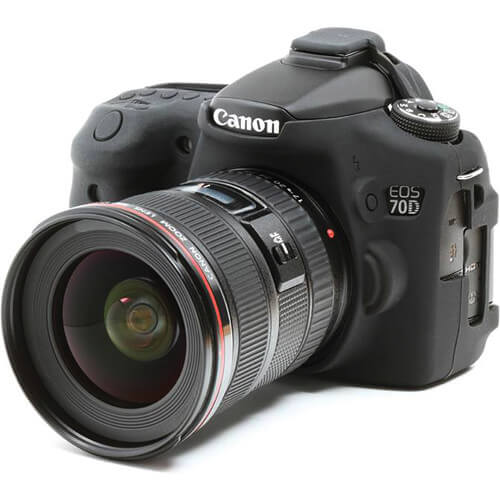 easyCover Silicone Protection Cover for Canon EOS 70D 3