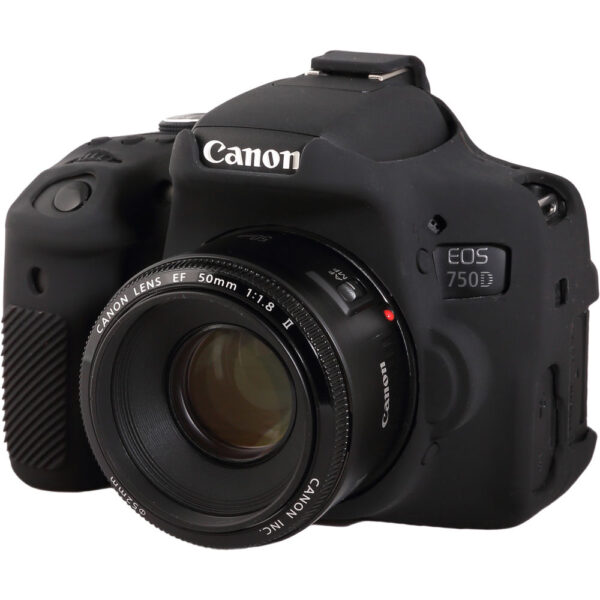 easyCover Silicone Protection Cover for Canon EOS 750D 8