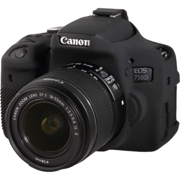 easyCover Silicone Protection Cover for Canon EOS 750D9