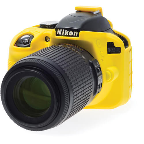 easyCover Silicone Protection Cover for Nikon D3300 6