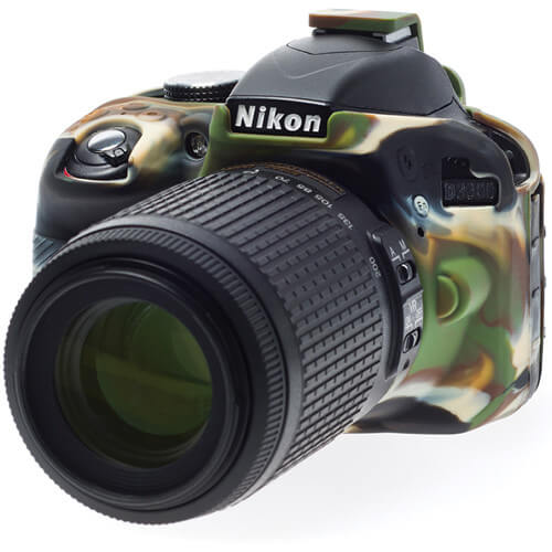 easyCover Silicone Protection Cover for Nikon D3300 9