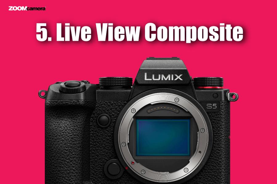 ฟีเจอร์ Panasonic Lumix S5 Live View Composite