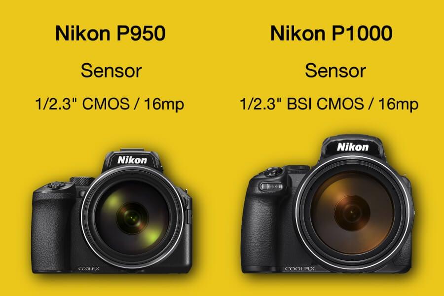 Nikon P950 vs Nikon P1000
