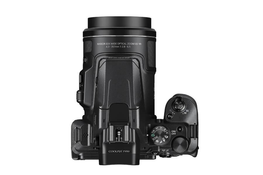 nikon p950 top view lense 1