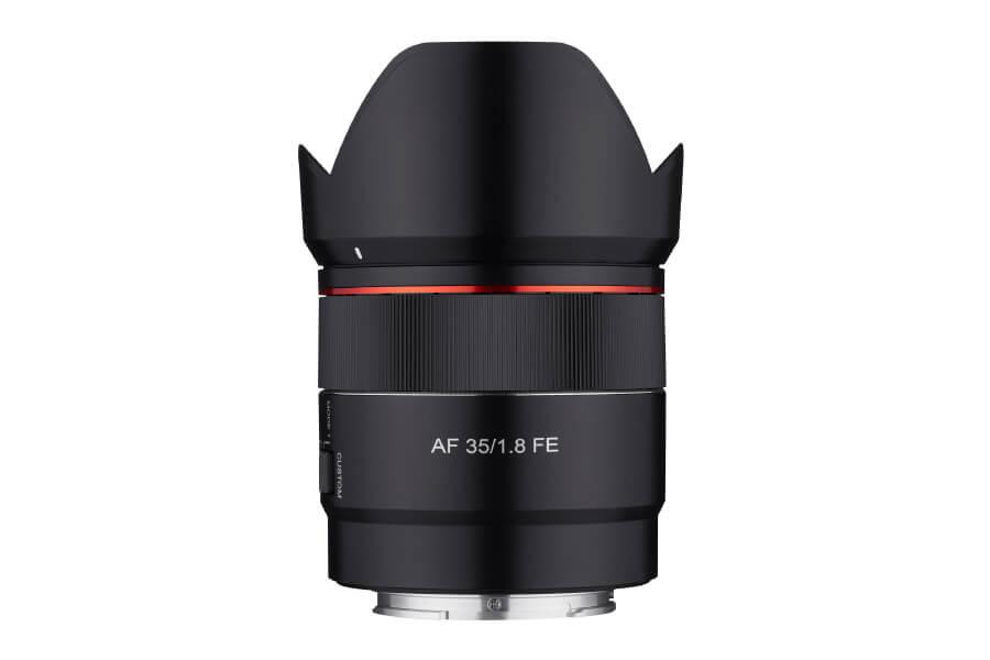 preview Samyang 35mm F1.8 FE