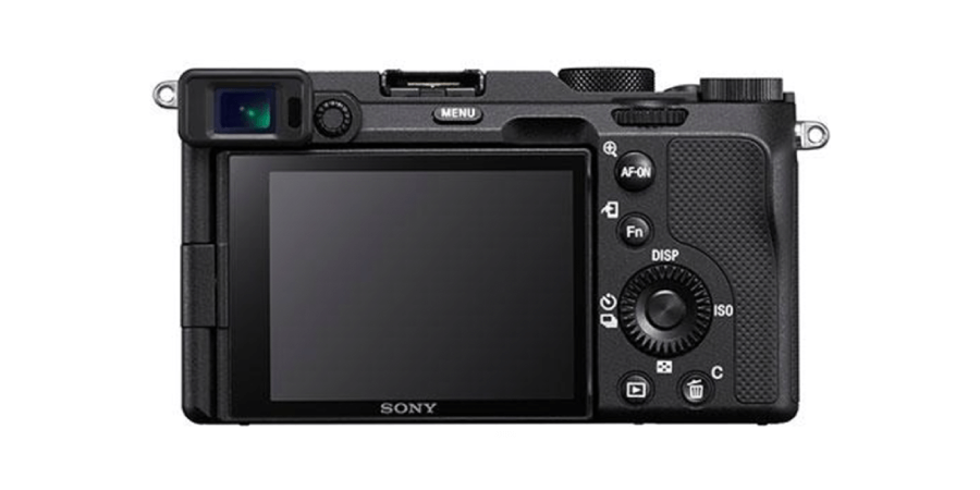 sony a7c back