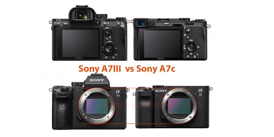 เปรียบเทียบ Sony A7C