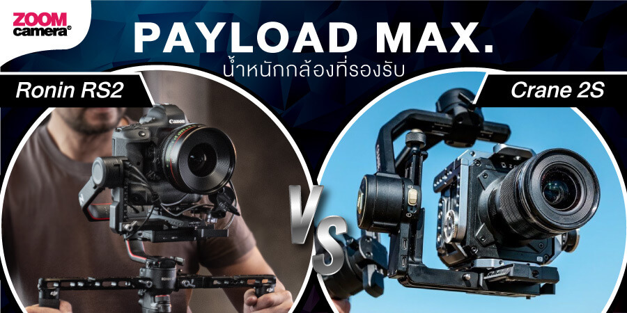 DJI Ronin RS2 vs Zhiyun 2S zoomcamera 2