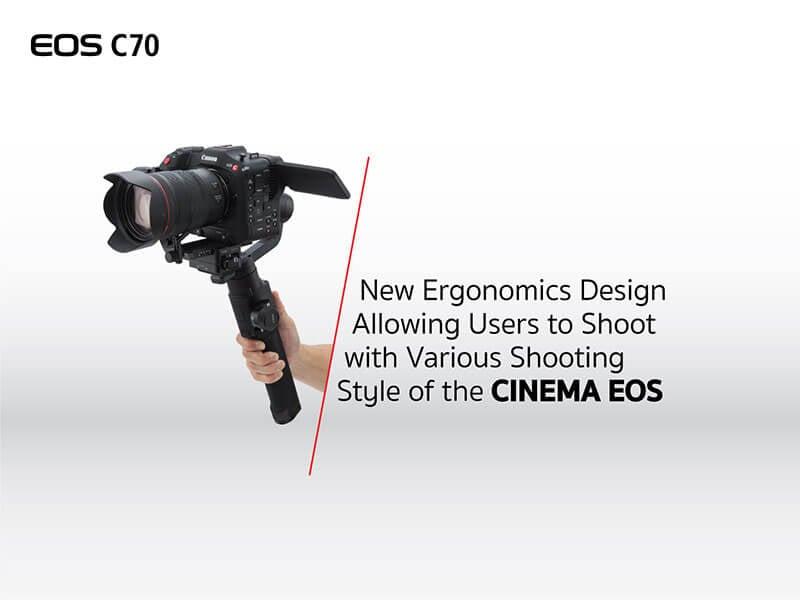Canon EOS C70 Cinema Camera RF Lens Mount 11