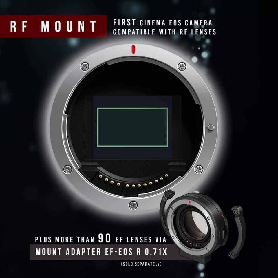 Canon EOS C70 Cinema Camera RF Lens Mount 14