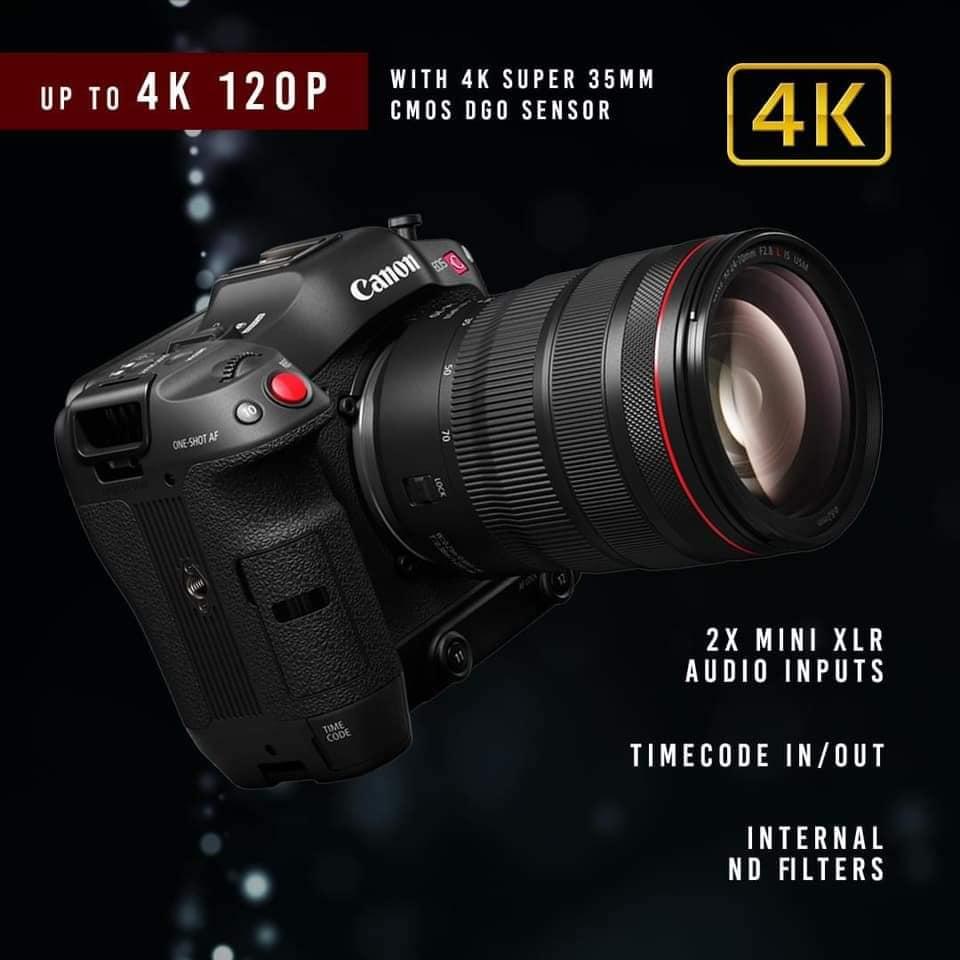 Canon EOS C70 Cinema Camera RF Lens Mount 16