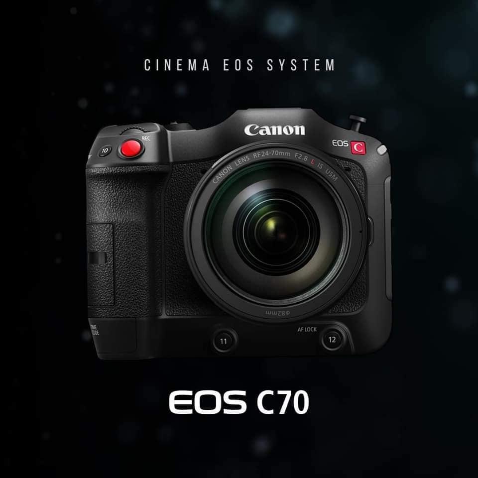 Canon EOS C70 Cinema Camera RF Lens Mount 17