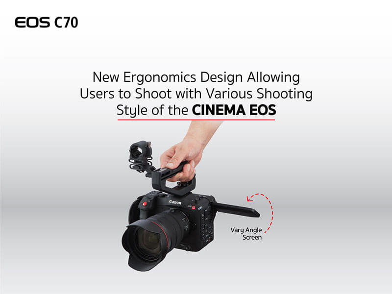 Canon EOS C70 Cinema Camera RF Lens Mount 19