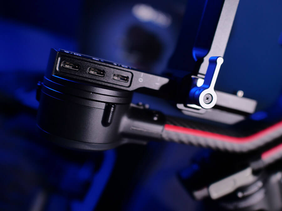 DJI RS2 USB port