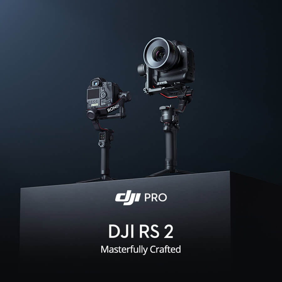 DJI RS2 masterfully crafted
