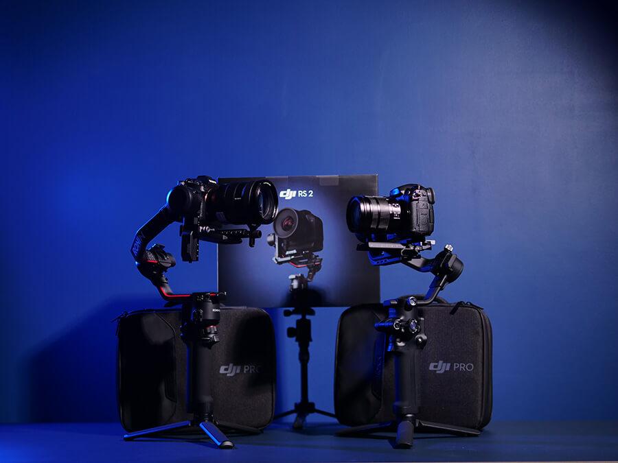 DJI RSC2 and DJI RS2