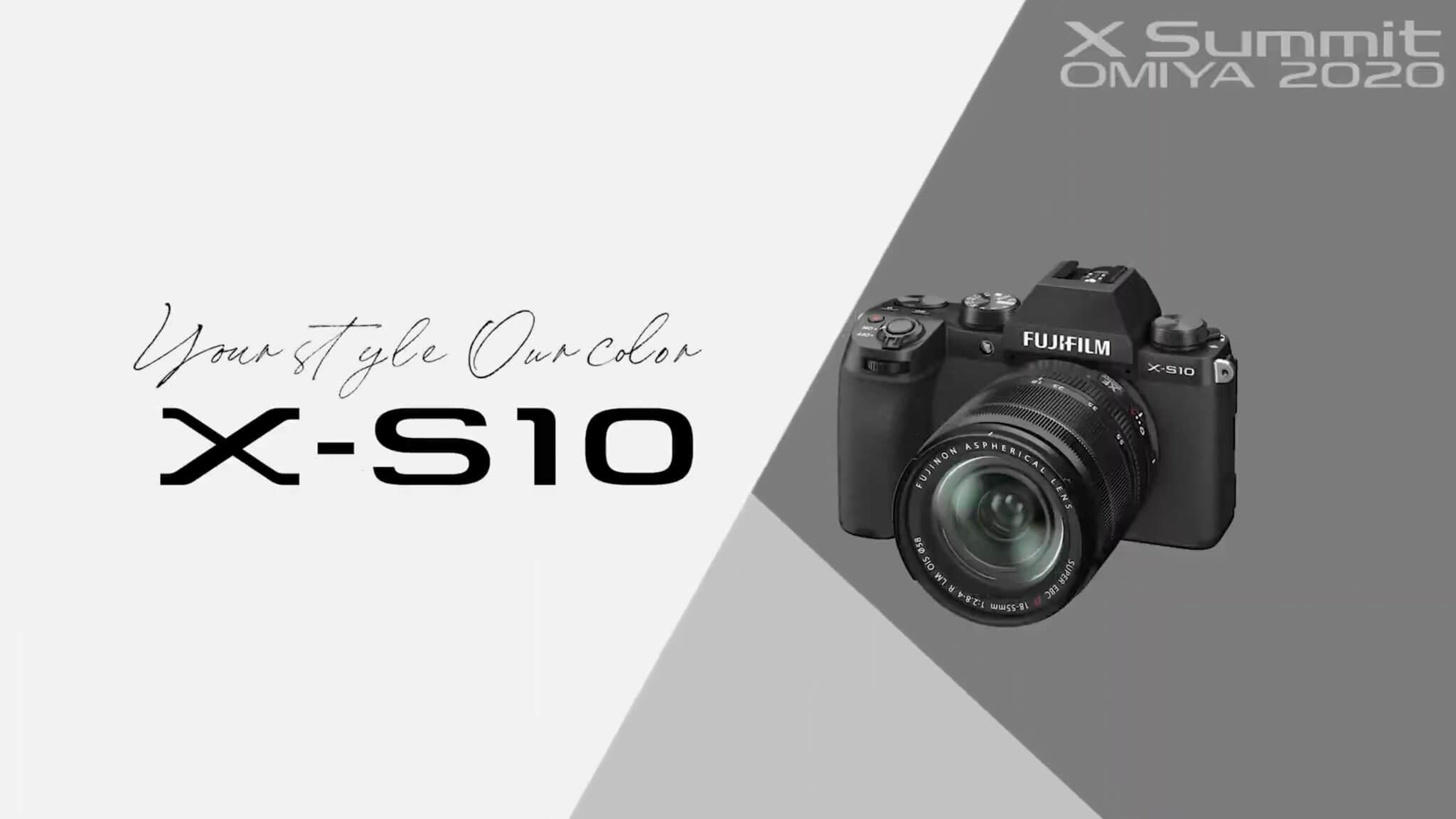 FUJIFILM X S10 Mirrorless Digital Camera Body Only 11