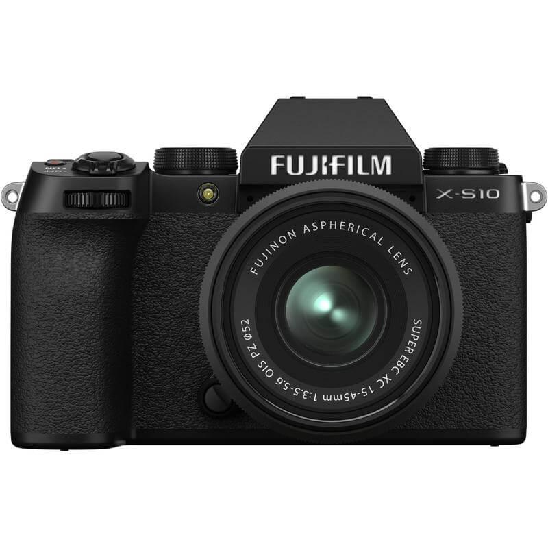 FUJIFILM X S10 Mirrorless Digital Camera with 15 45mm Lens 1