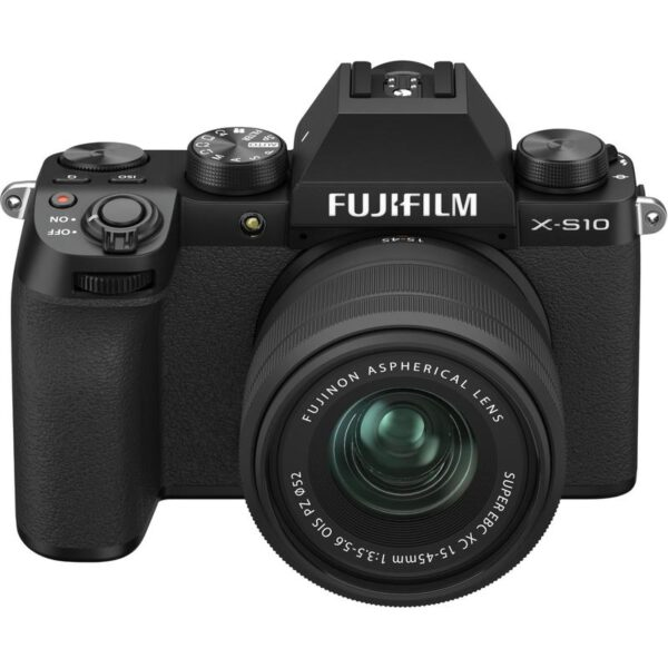 FUJIFILM X S10 Mirrorless Digital Camera with 15 45mm Lens 2