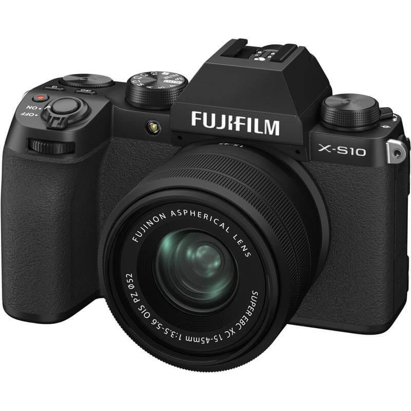 FUJIFILM X S10 Mirrorless Digital Camera with 15 45mm Lens 3