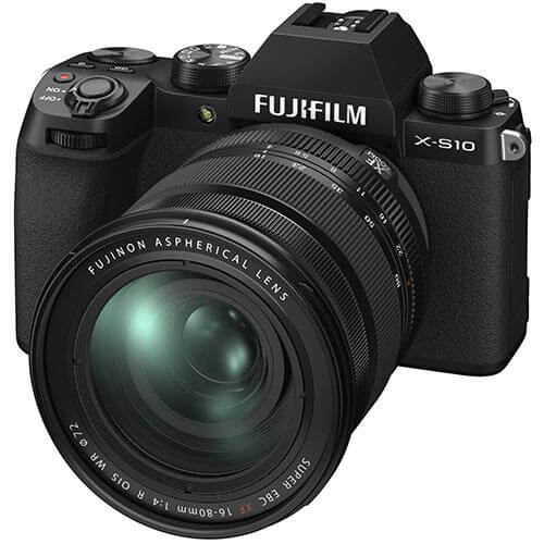 Fujifilm X S10 mirrorless camera 16