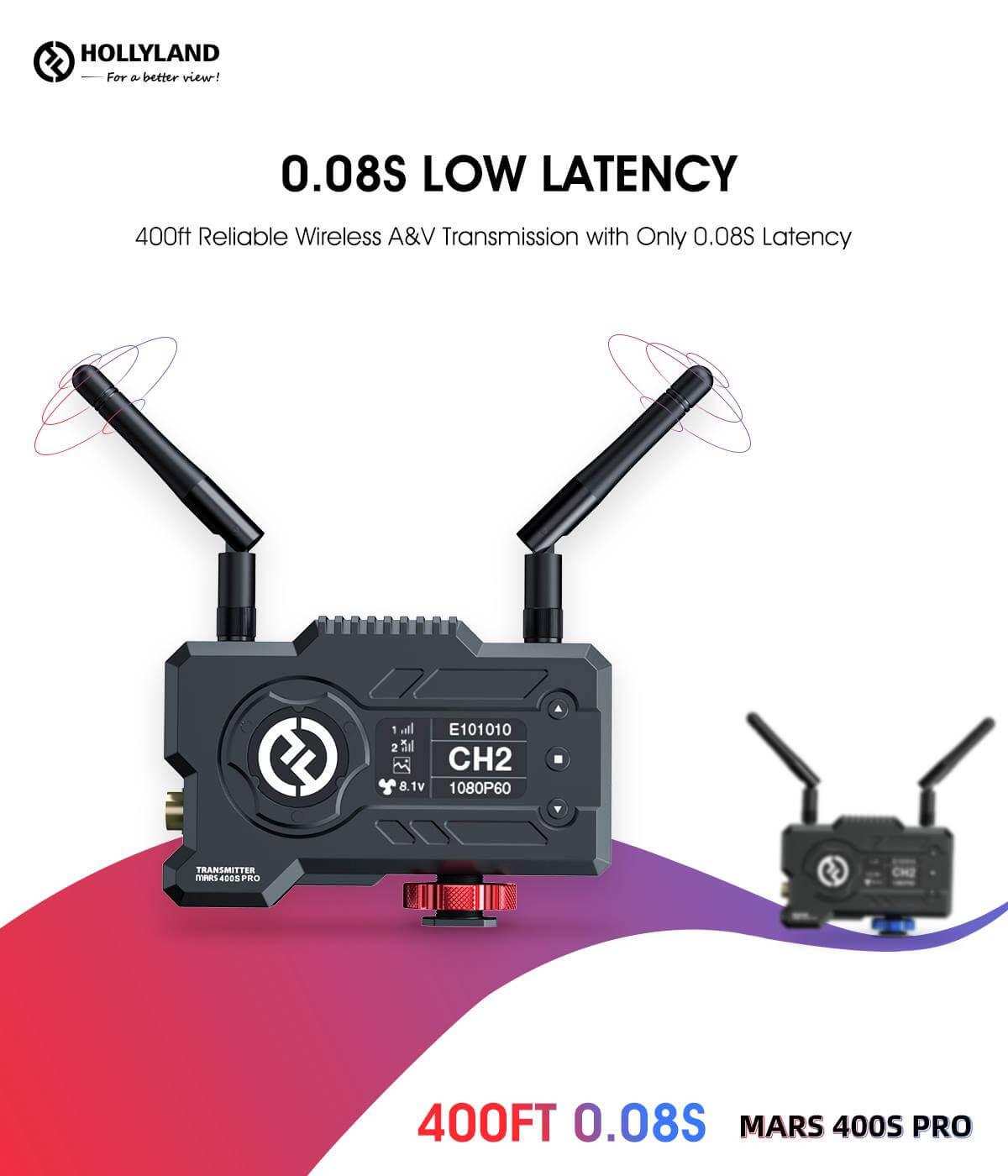 Hollyland Mars 400S PRO SDIHDMI Wireless Video
