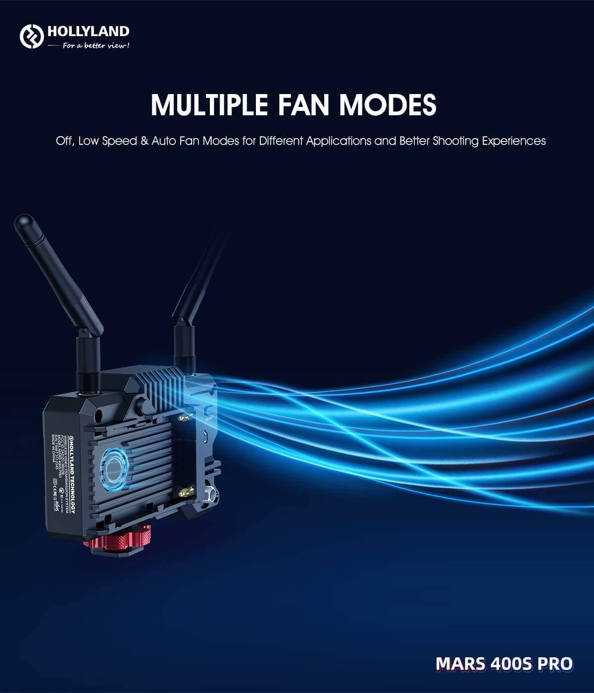 Hollyland Mars 400S PRO SDIHDMI Wireless Video Transmission System 16