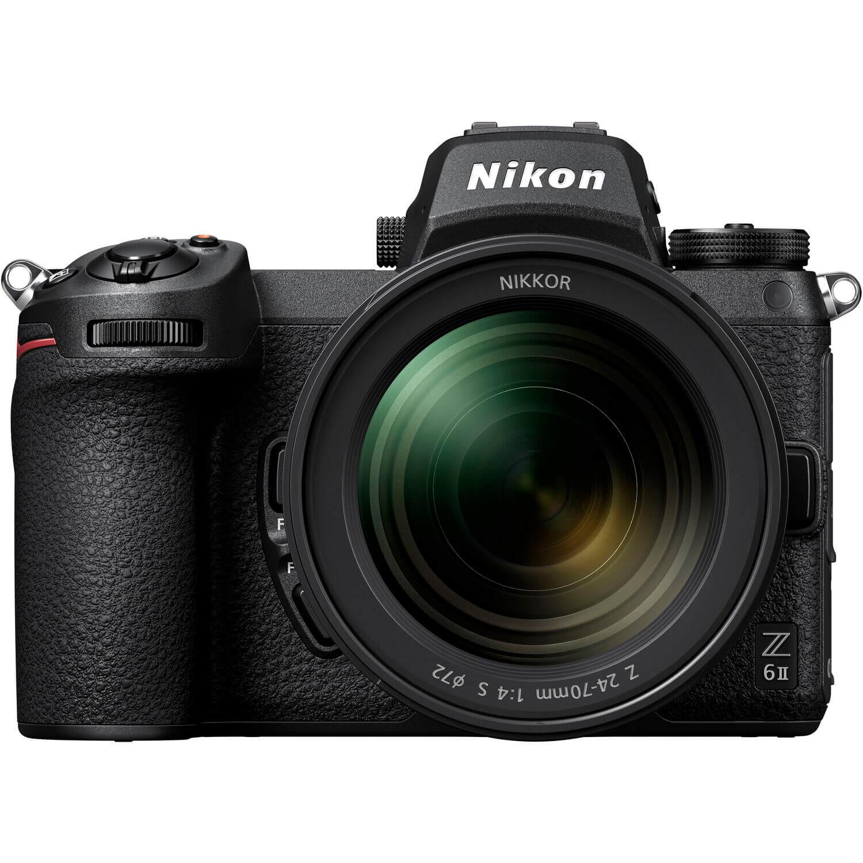Nikon Z 6II Mirrorless Digital Camera with 24 70mm f4 Lens 1