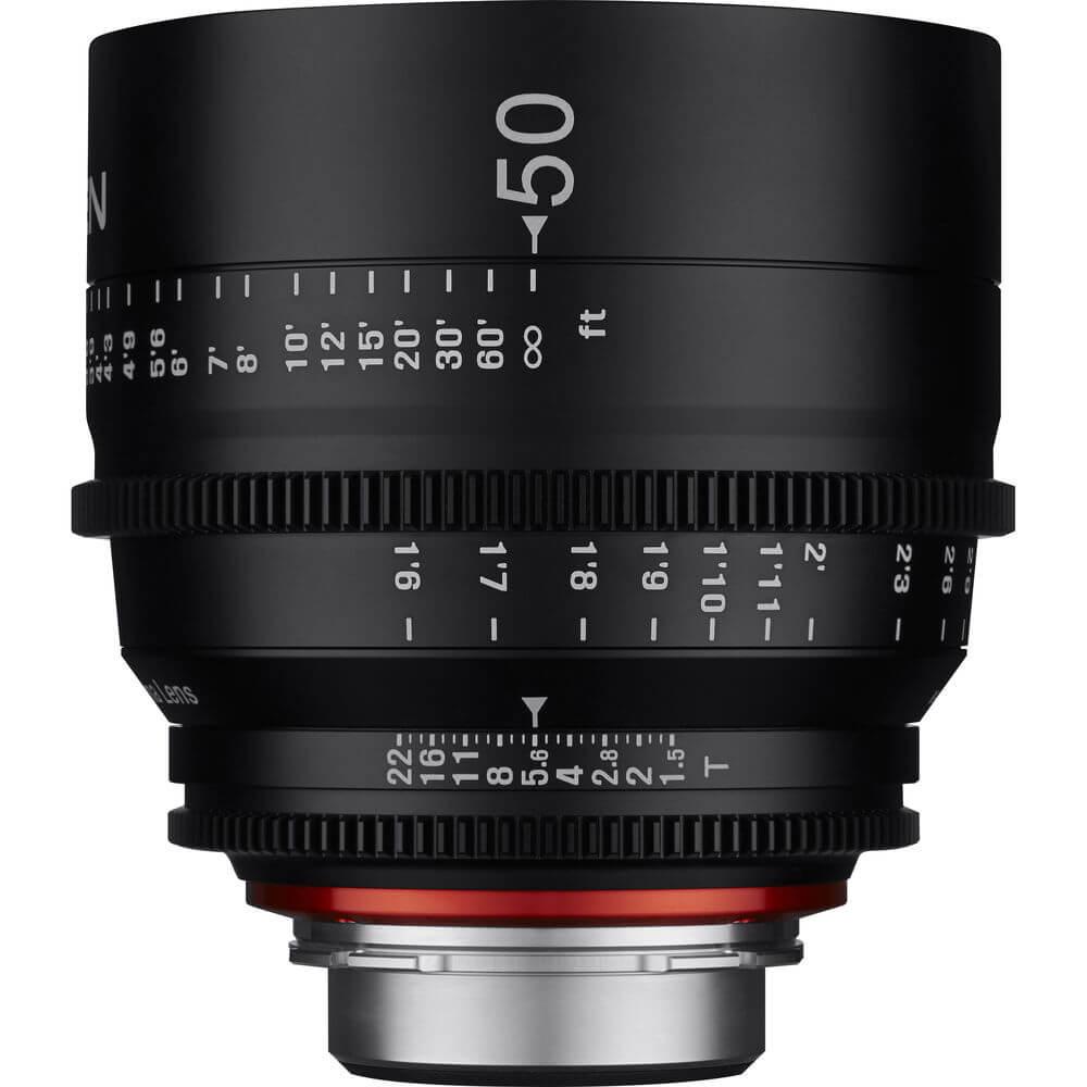Rokinon Xeen 50mm T1.5 Lens 1