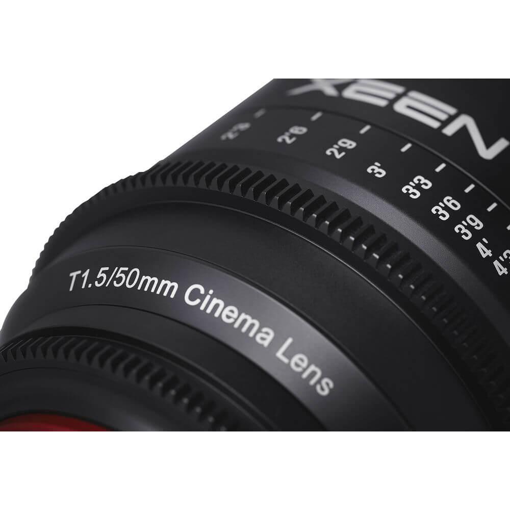Rokinon Xeen 50mm T1.5 Lens 4