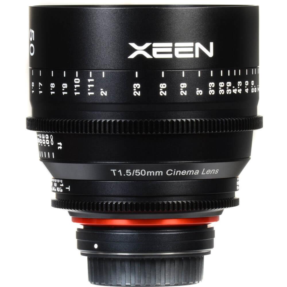 Rokinon Xeen 50mm T1.5 Lens 6