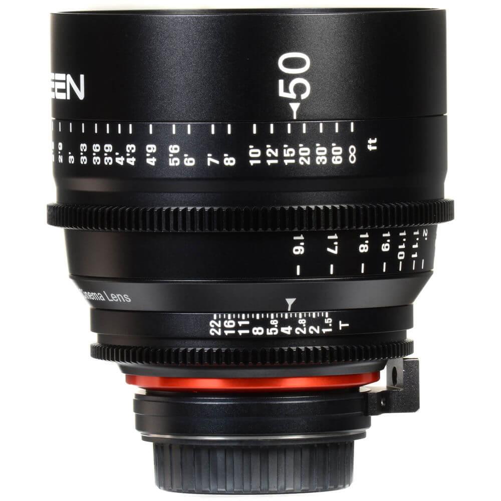 Rokinon Xeen 50mm T1.5 Lens 7