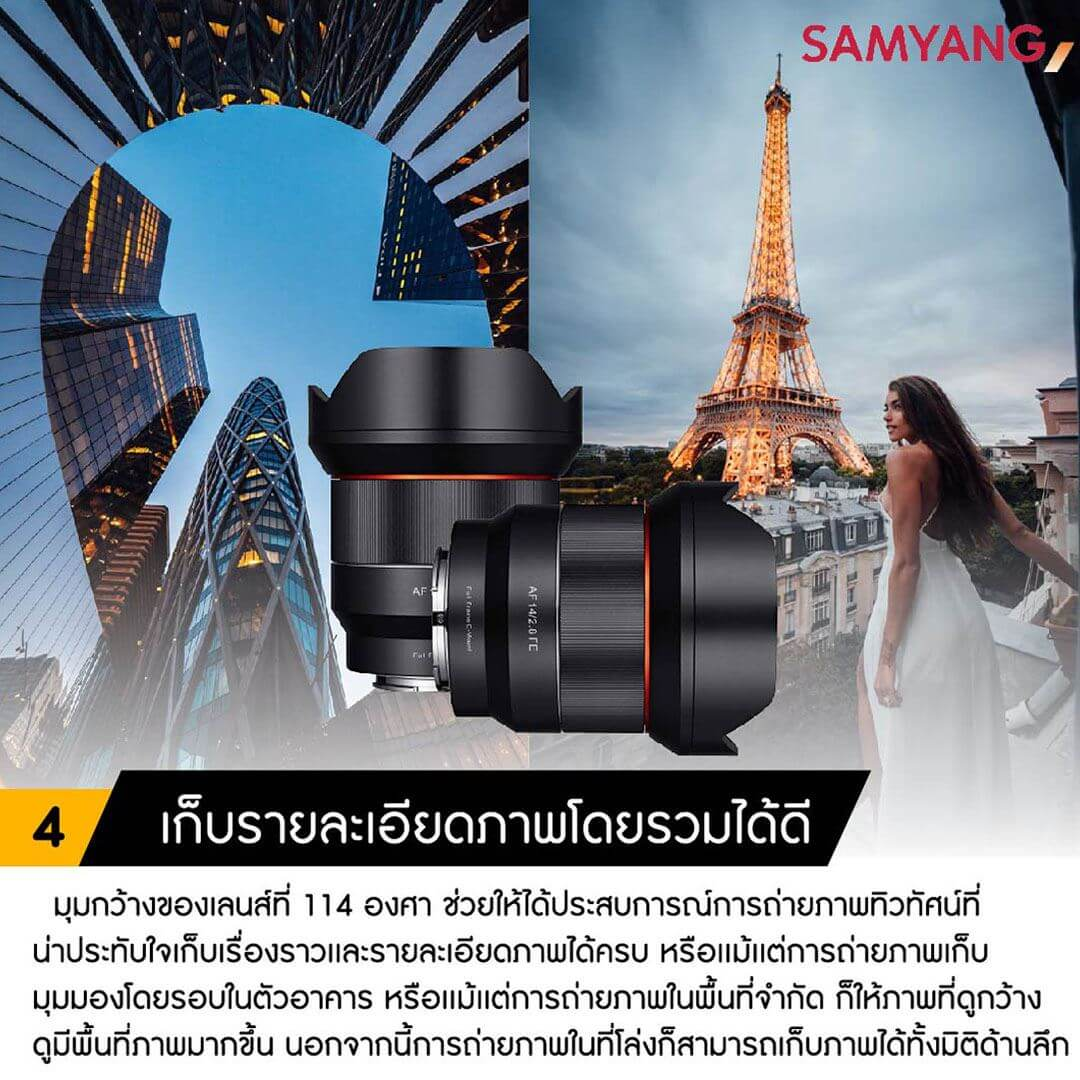 Samyang Auto Focus 14mm F2.8 for Sony E