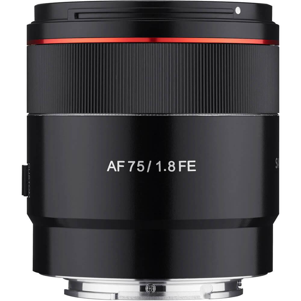 Samyang AF 75mm f1.8 FE Lens for Sony E