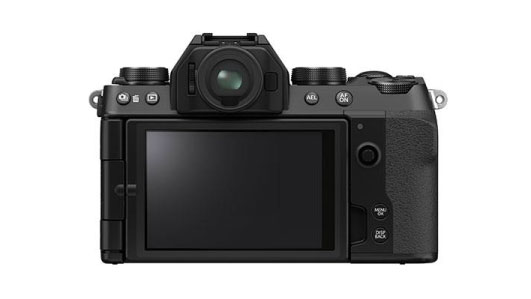 Fujifilm X-S10 Back