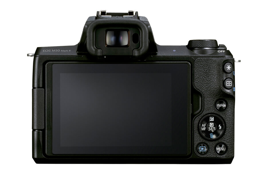 preview canon eos m50 ii back