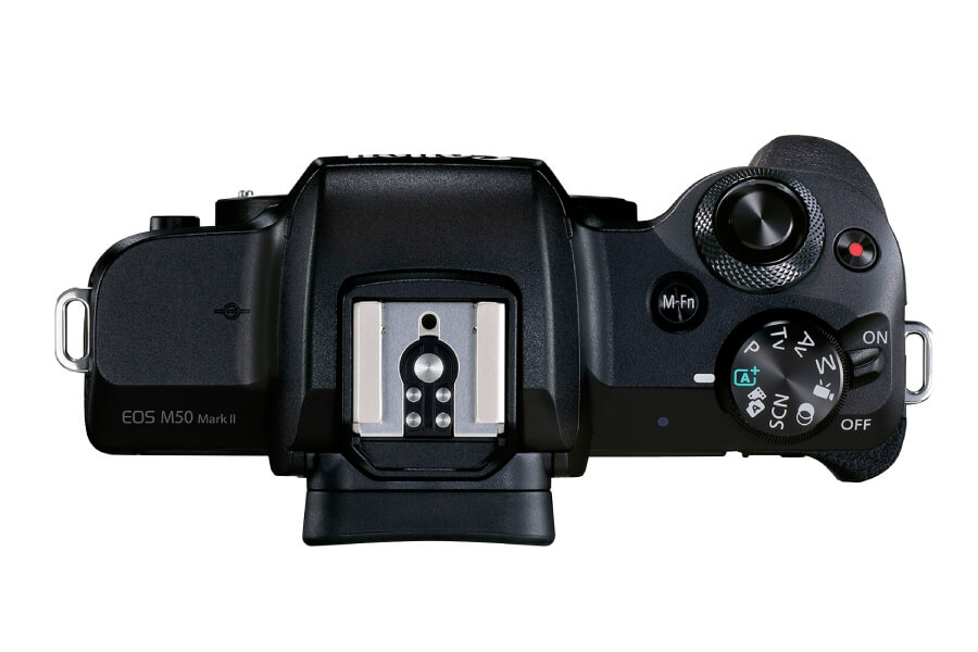 preview canon eos m50 ii top