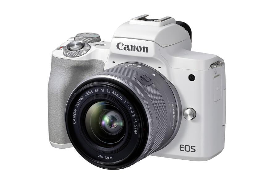 preview canon eos m50 ii white kit