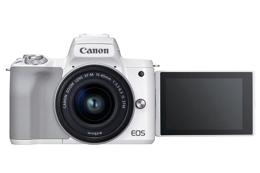 preview canon eos m50 ii white kit 0