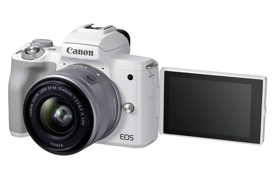 preview canon eos m50 ii white kit 1